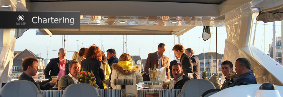 Chartering a motor yacht
